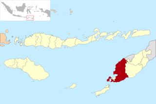 Lokasi Kabupaten Kupang