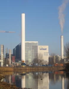 SYSAV pabrik incineration di Malmö, Sweden